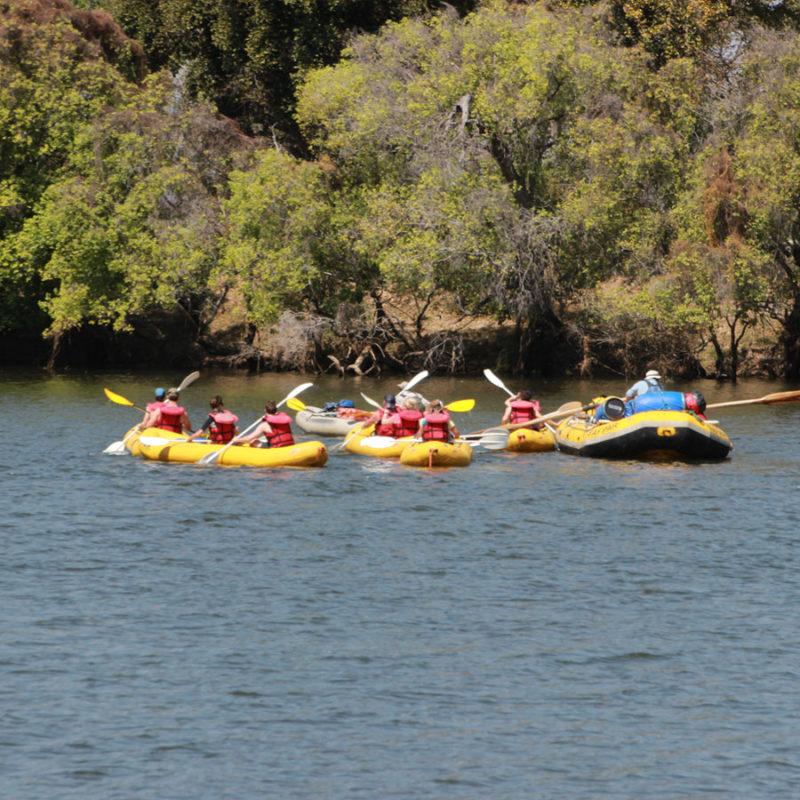 Zambezi River Overnight Canoe Trip