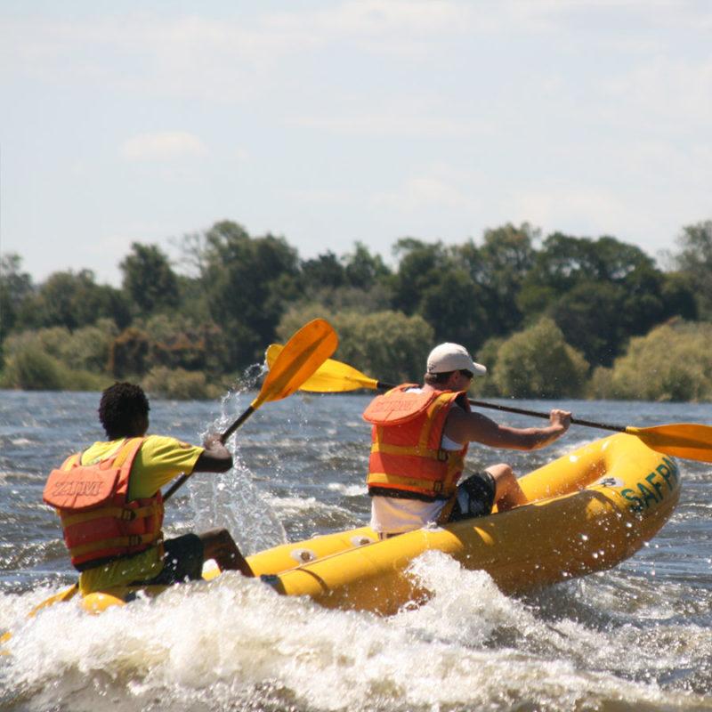 Zambezi River Canoe Trip Victoria Falls