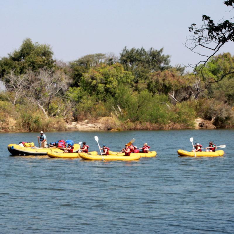Zambezi Overnight Canoe Trip