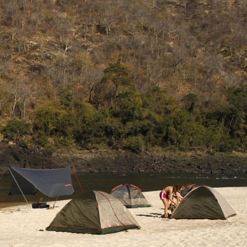 White Water Rafting Zambezi River Multi Day Trip