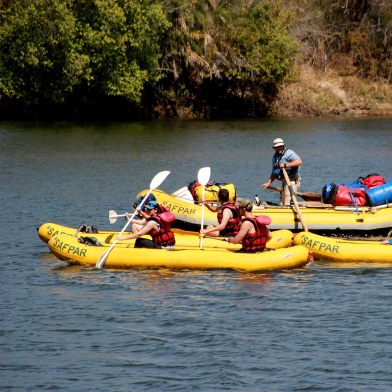 Overnight Canoe Trip Zambezi River