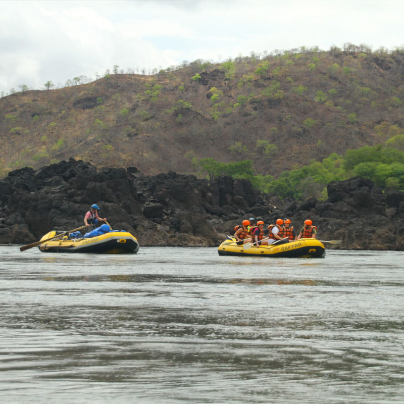 8 Night Rafting Trip Zambezi