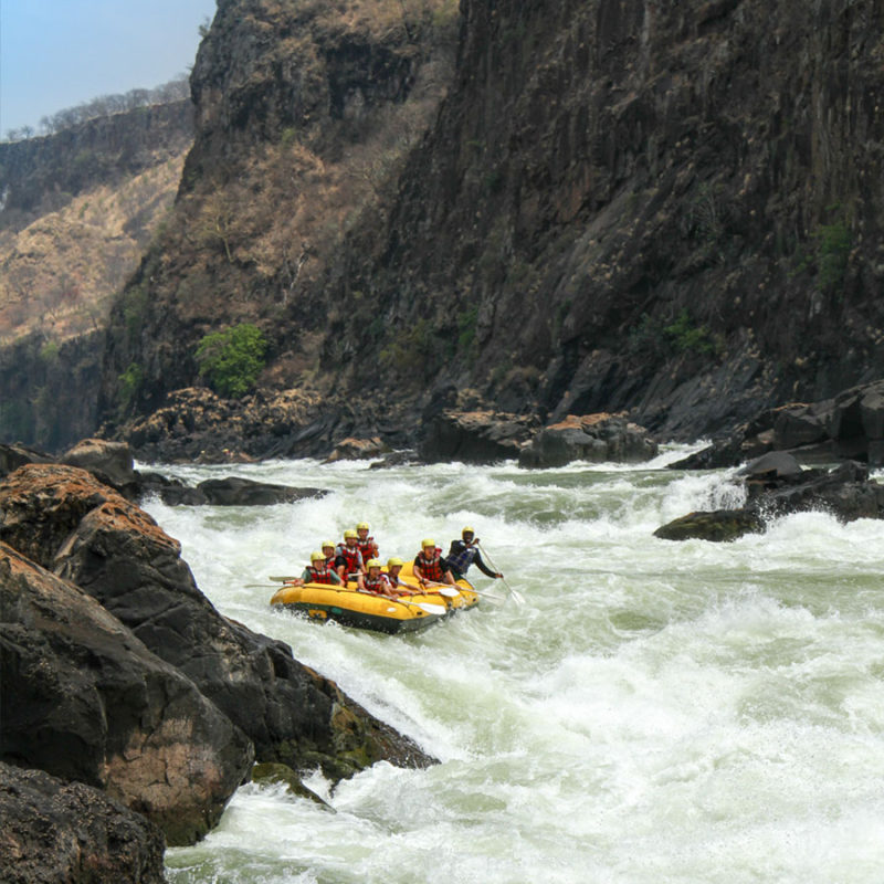 White Water Rafting Zambezi River Victoria Falls