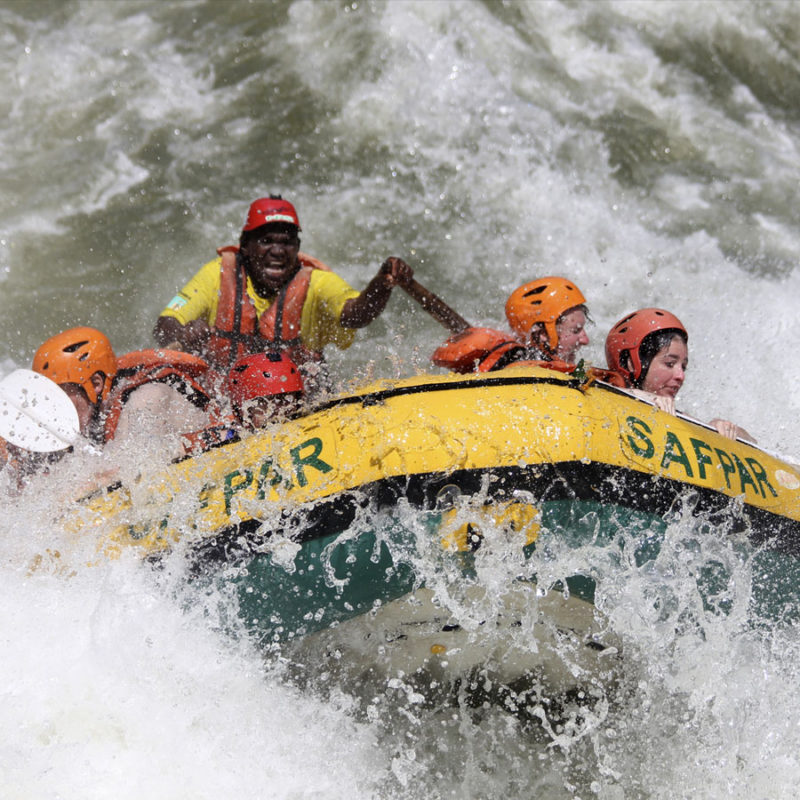 Day Trip Zambezi White Water Rafting