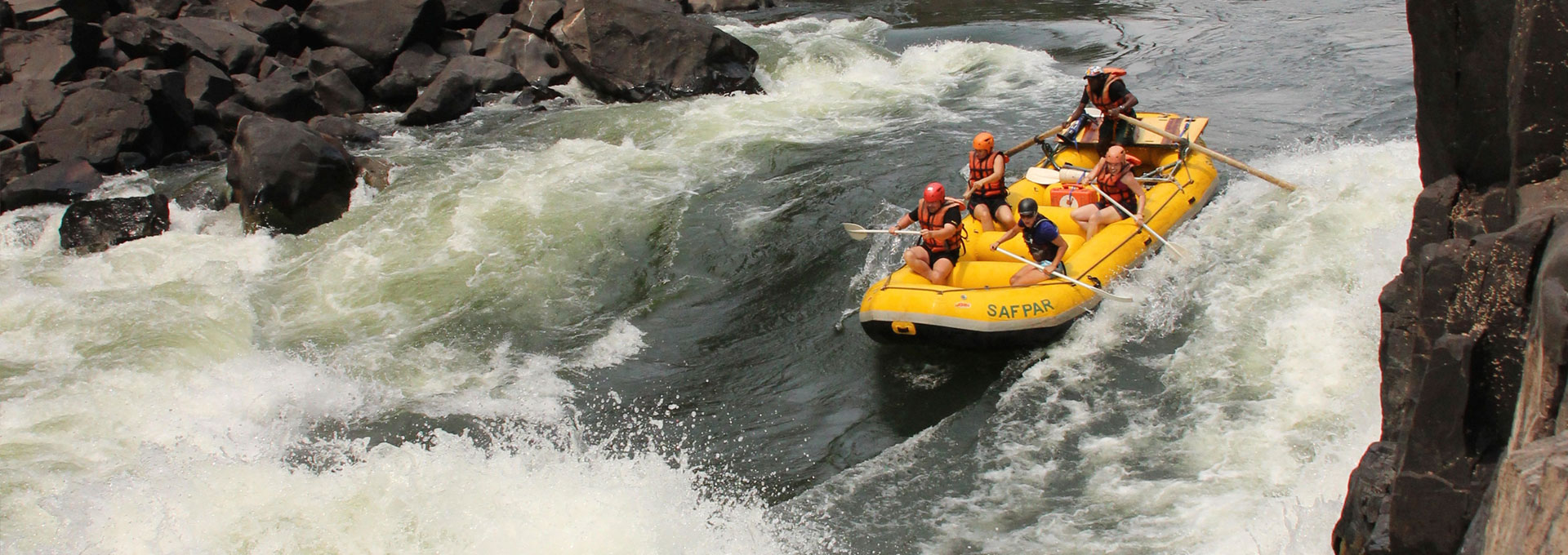 White Water Rafting Safpar
