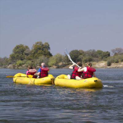 Canoe Day Trip Zambezi River