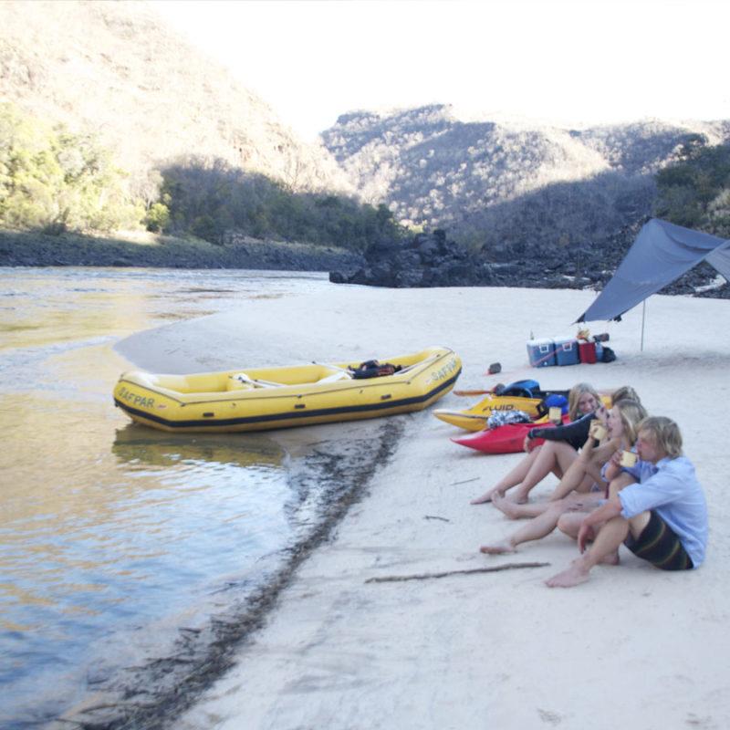 Overnight Rafting