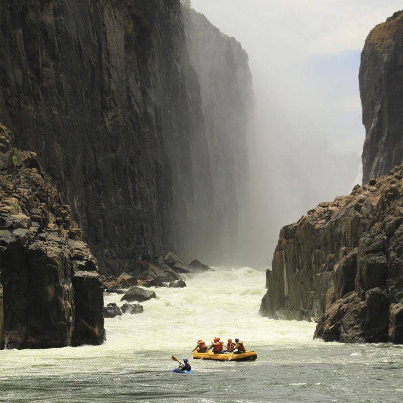 Zambezi River Overnight White Water Rafting