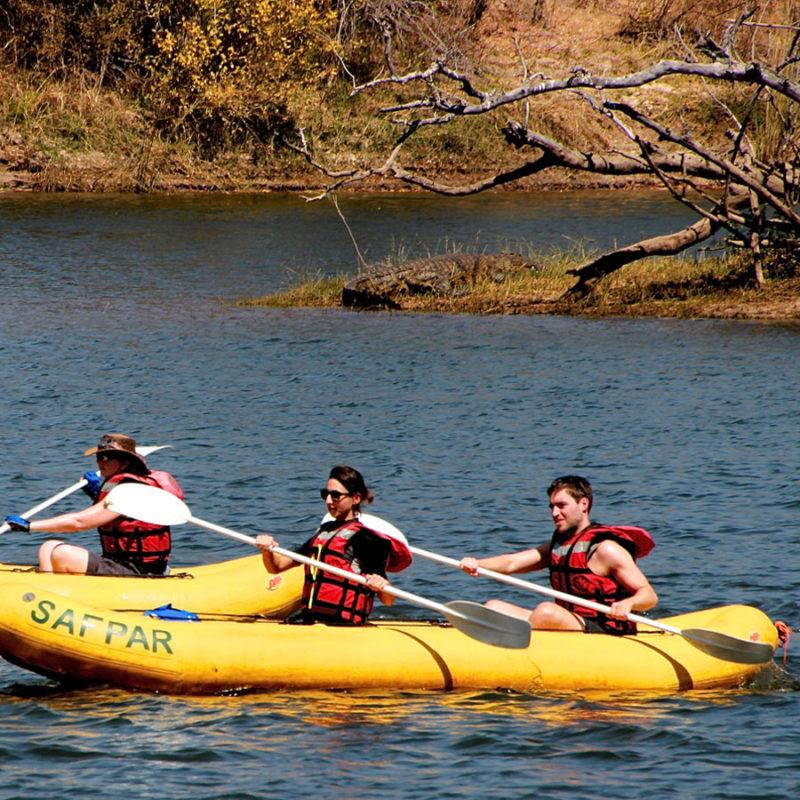 Canoe Zambezi River