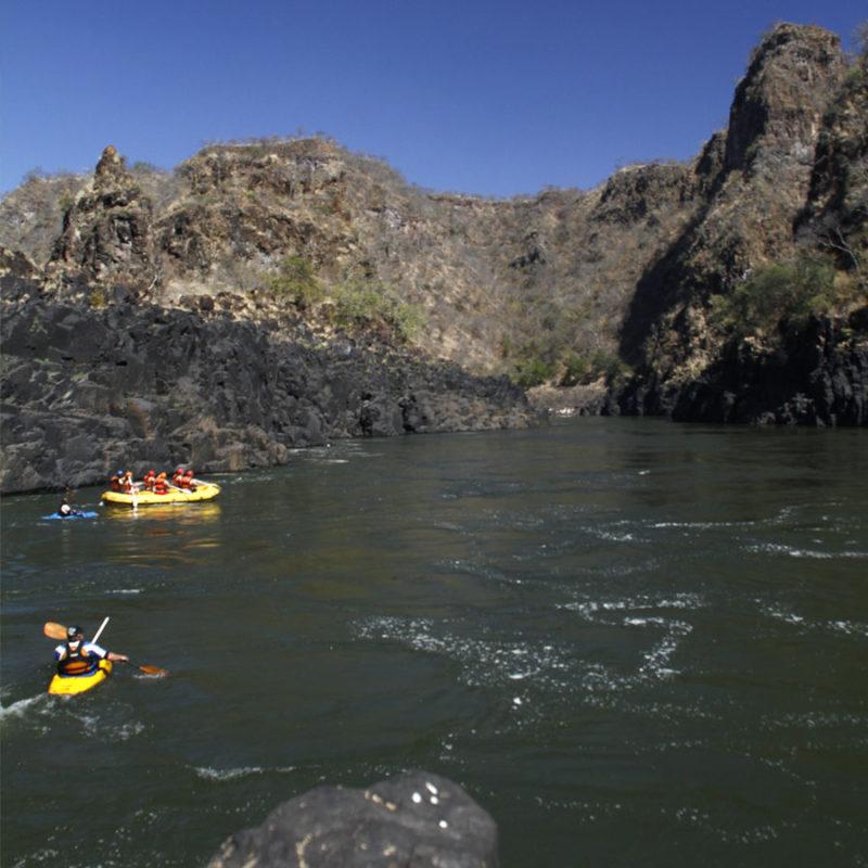 Zambezi River Overnight Rafting Trip