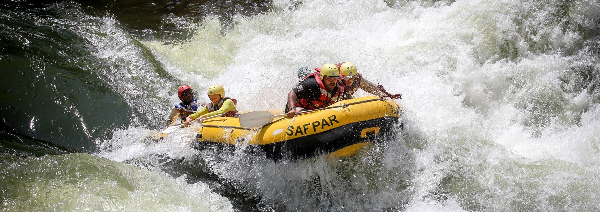Zambezi Rafting Festival Livingstone